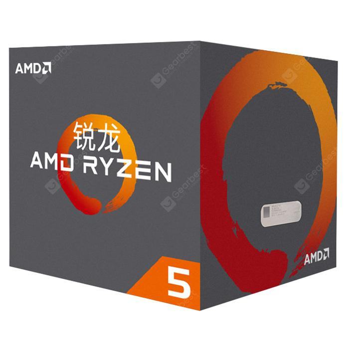AMD Ryzen 5 2600X 6 Core 12 Thread AM4 DDR42933MHz 36GHz CPUSilver