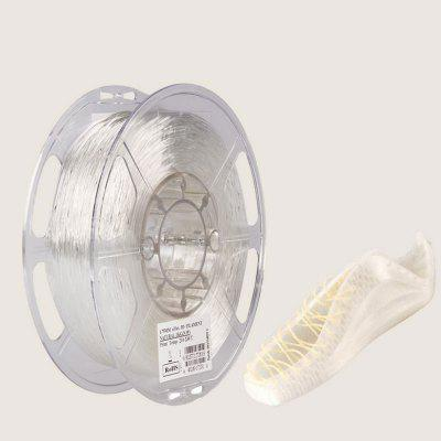eSUN TPU eFlex 1.75mm Flexible 3D Printer Filament Natural Material