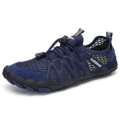 Moda Masculina Respirável Outdoor Casual Sports Shoes Durable