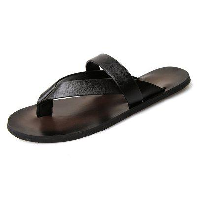 Herren Sommer Clip Zehe Anti-Rutsch Outdoor Sandalen Mode