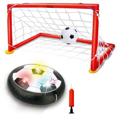Kids Toys Hover Soccer Ball Set with 2 Goals LED Light