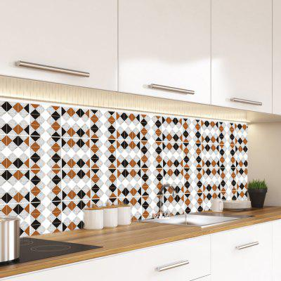YCZ107 Tile Wall Sticker for Kitchen Bathroom Dining Room Decoration 19pcs