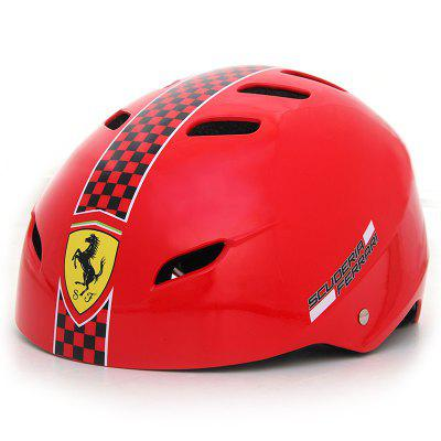 Ferrari FAH50 Plum Riding Skating Safety Helmet