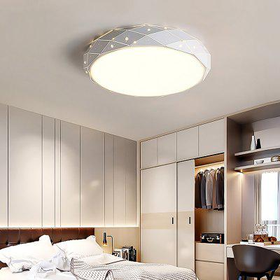 24W LED Round Ceiling Light Stepless Dimming Lamp