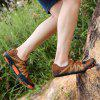 Moda Masculina Respirável Outdoor Casual Sports Shoes Durable - OURO LARANJA