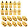 Brass Nozzle for Creality Ender - 3 / Cr - 10 / Cr - 10s / Cr - 10s Pro / Alfawise U20 / U30 Anet / Anycubic 1.75mm 3D Printer  5pcs - GOLD