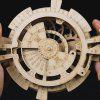 Robotime LK201 Hand-assembled Wooden Toy Calendar Ornaments - BURLYWOOD