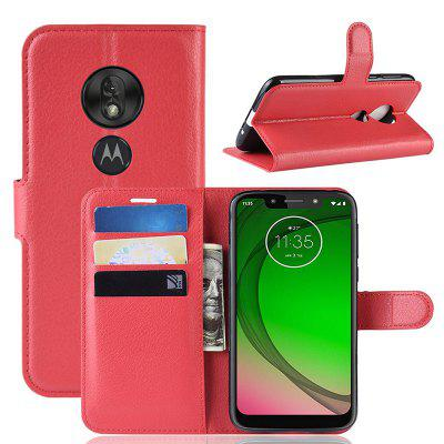 Naxtop PU Leather Flap Cover Case for Motorola Moto G7 Play EU Version / G7 Play US Version