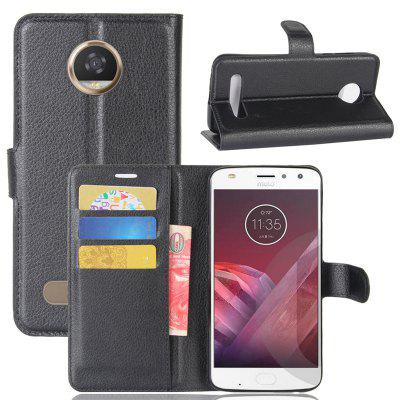 Naxtop PU Flip Cover Case with Card Slot Cash for Motorola Moto Z2 Play / Moto Z2 Force / Moto X4