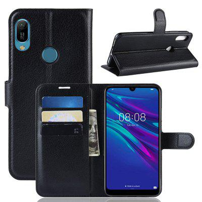 Naxtop PU Flip Cover Case with Card Slot Cash for Huawei Y6 Pro 2019 / Y6 Prime 2019 / Y6 2019