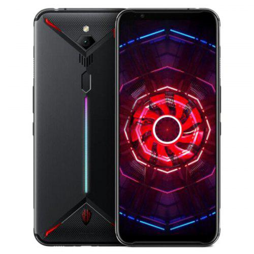Gearbest Nubia Red Magic 3 4G Gaming Phablet International Version - Black 6.65 inch Android 9.0 Snapdragon 855 Octa Core 8GB RAM 128GB ROM 48.0MP Rear Camera 5000mAh Battery