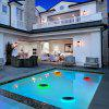 ELS - 02SM Color Changing Solar Swimming Pool LED Light - PISTACHIO GREEN
