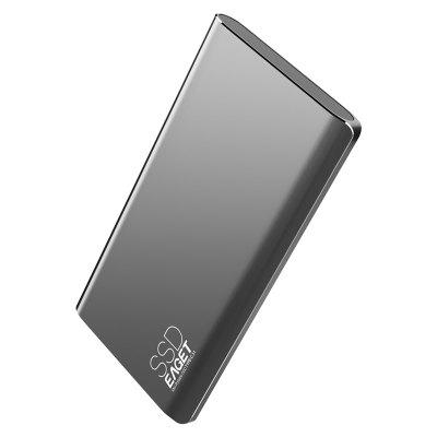 The $49.99 EAGET M1 Type-C USB 3.1 Portable 256GB SSD Offers the Largest Storage Memory for Your Money