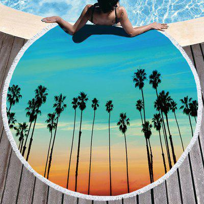 Thick Round Fashion Beach Towel