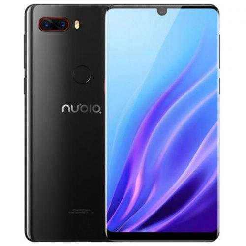 Gearbest Nubia Z18 4G Phablet 6 inch International Version - Black Android 8.1 Snapdragon 845 Octa Core 8GB RAM 128GB ROM 16.0MP + 24.0MP Rear Camera 3450mAh Battery