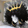 Indoor Wall Decoration Home Tapestry - BLACK