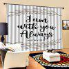 Digital Printed Waterproof Living Room Curtain - MULTI-A