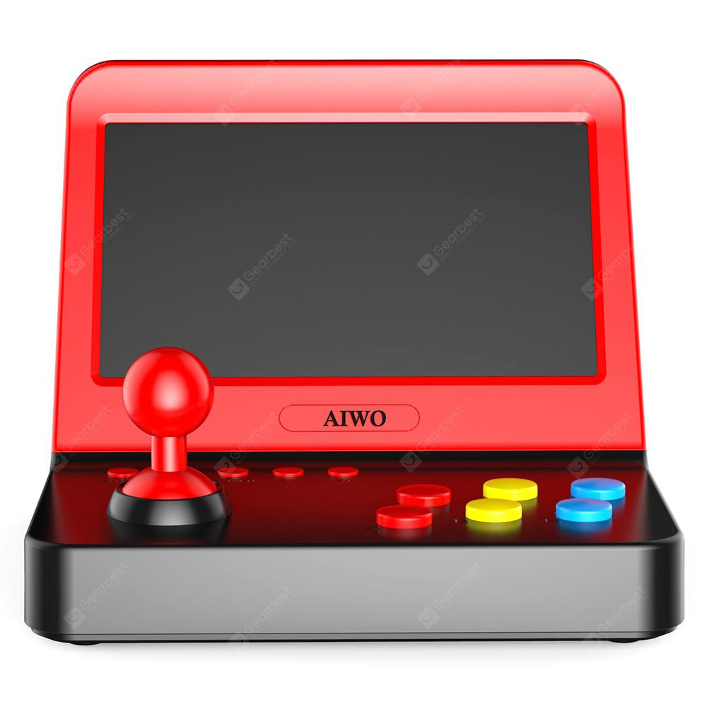 AIWO G1000 Small Arcade Game Machine - Lava Red