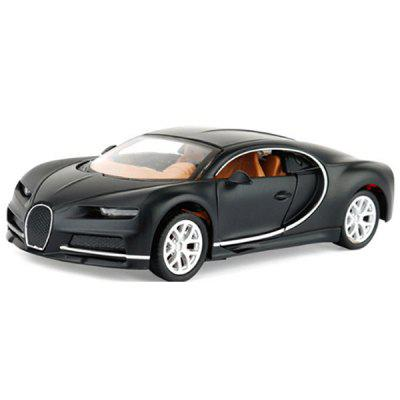 RY005 Simulated Alloy Pull Back Car Model