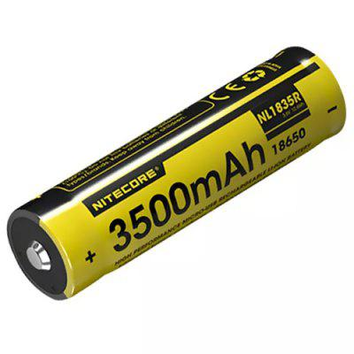 Nitecore NL1835R 3.6V 3500mAh Mirco USB Directly Rechargeable 18650 Li-ion Battery