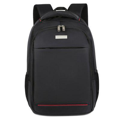 hq1087 Men's Solid Color Business Casual Backpack Large Capacity
