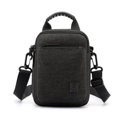 Aotian 53210 Men 's Solid Color Portable Casual Crossbody Bolsa impermeable