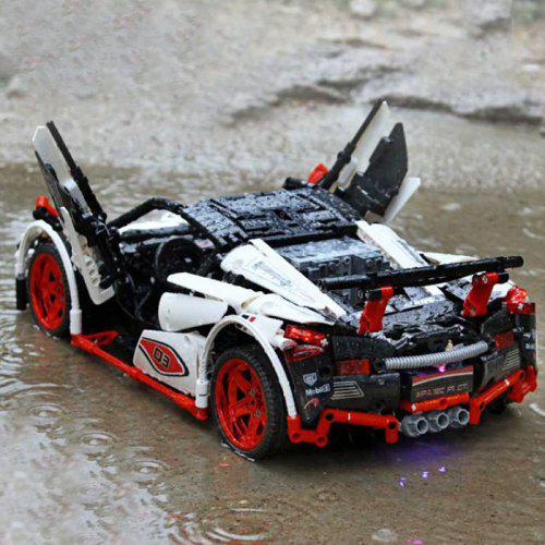 MOC - 6687 Cool 1:10 Sports Car Building Blocks 2 4G / APP Remote Control  Two Modes