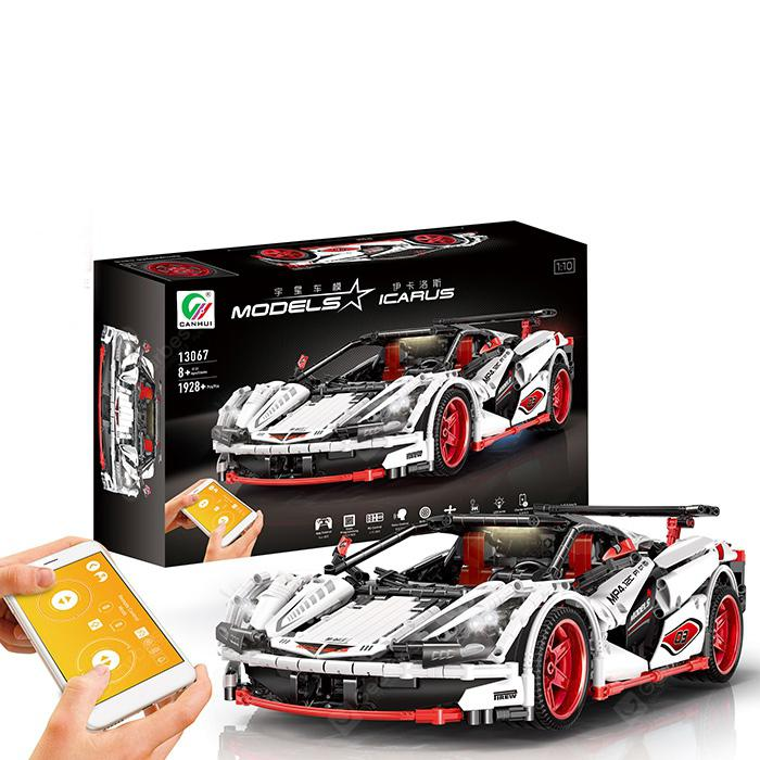 MOC - 6687 Cool 1:10 Sports Car Building Blocks