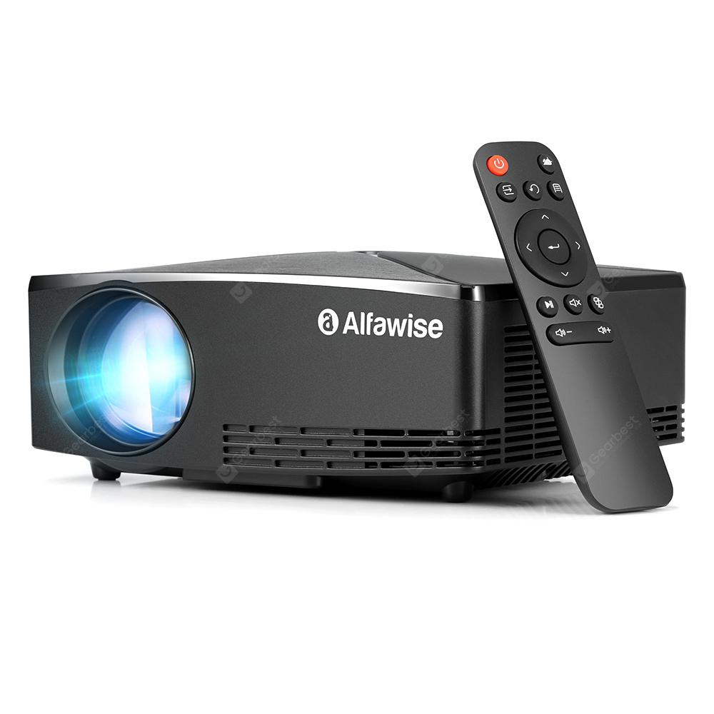 Alfawise A80 2800 Lumens BD1280 Smart Projector Basic Version – Black
