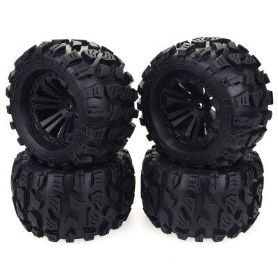ZD Racing Wheel gumiabroncs 1/10 Monster Truck 4db