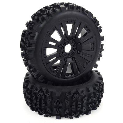ZD Racing Wheel Tire for 1/8 Off-road Vehicle 2pcs