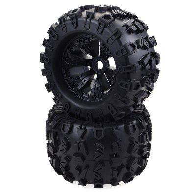 ZD Racing Wheel Tire for 1/8 Monster Trunk 2PCS