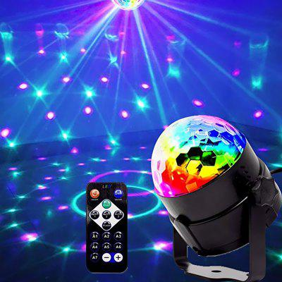 Mini Magic Ball LED Rotating Stage Lamp 100 - 240V
