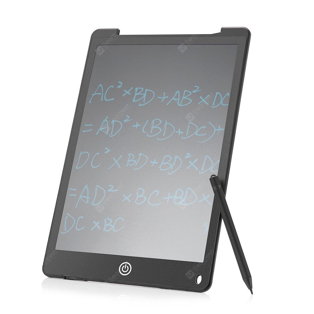 G121 12 inch LCD Writing Tablet - Black