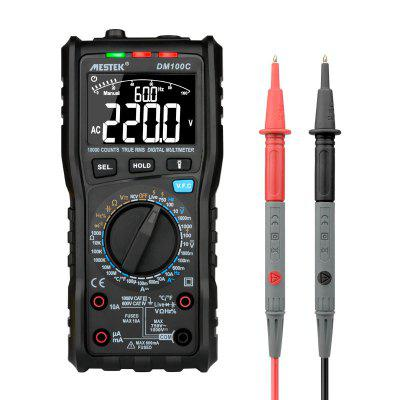 MESTEK DM100C Digital Multimeter Manual Automatic