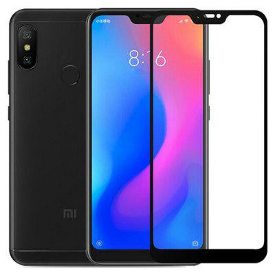 Silk Screen Protector Tempered Glass for Xiaomi A2 Lite
