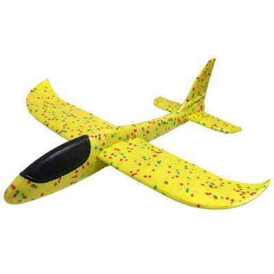 RY119 Children Hand Throwing Aircraft 48cm Whirl Toy