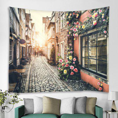 Street Architectural Pattern Tapestry