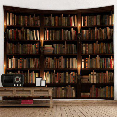 Bookcase Pattern Tapestry