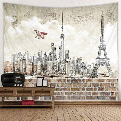 Tower Pattern Tapestry