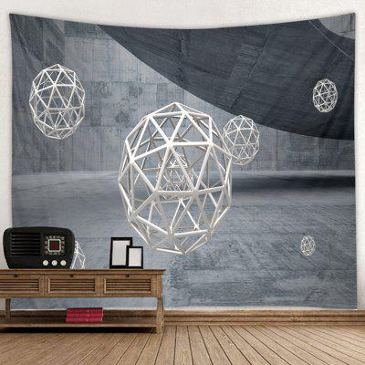 Spherical Pattern Creative Home Decor Tapestry