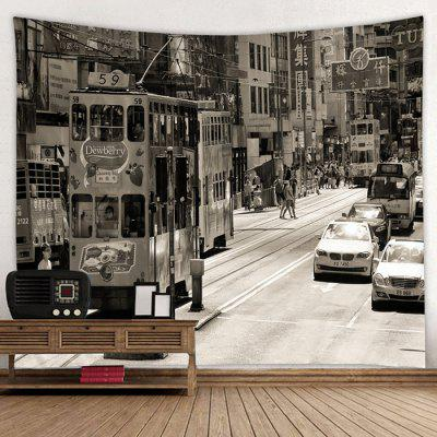 Mode Street View Home Decor Tapestry