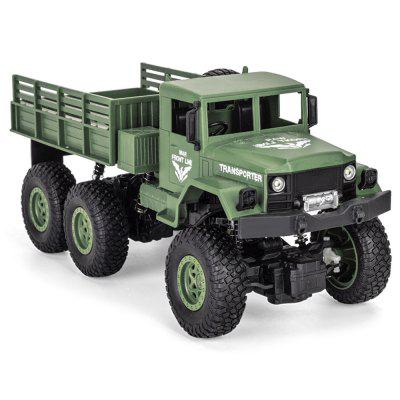 JJRC Q69 1:18 2.4G Six-wheeled RC Military Truck - RTR