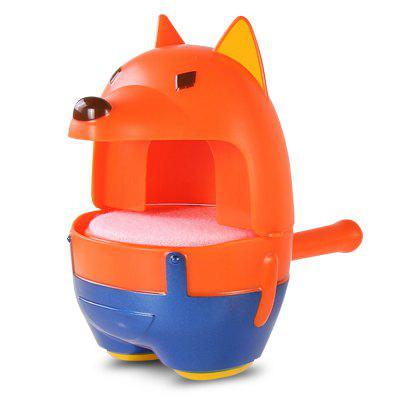 Fox Chick Machine à Bulles Mode Double Jouet de Bain Interactif Parent-Enfant