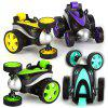 RY121 Wireless Remote Control Stunt Toy Car 360 Degree Rotating - PURPLE