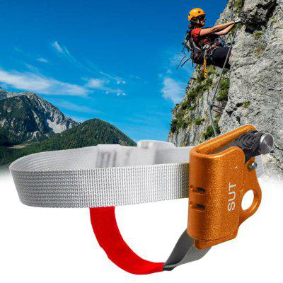 Outdoor Equipment Left Foot Climbing Device Pedal Type