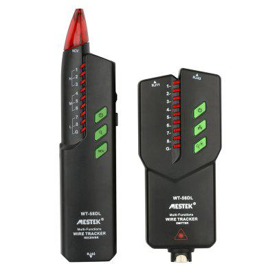 MESTEK WT - 58DL Network Line Finder Anti-Jamming Ruisvrije POE Patrol Line Checker met rode pen