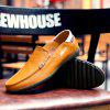 Men's Leather Shoes Large Size Ultra-light Casual Comfortable - LIGHT BROWN