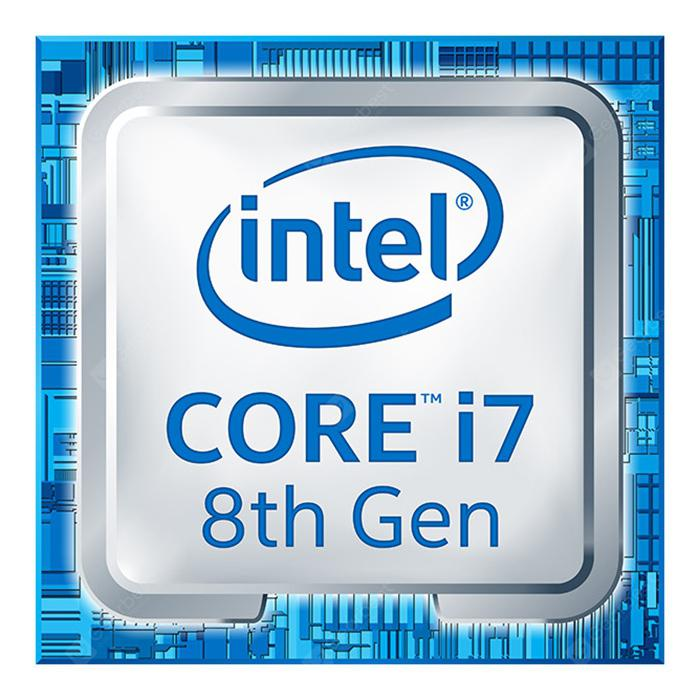 Intel I7 - 8700K CPU LGA1151 Chip Interface 6 Core 12 Threads Turbo 3.7GHz - Silver