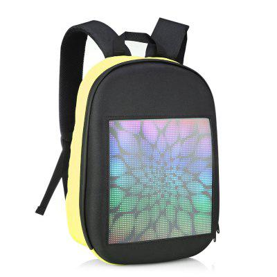 GearBest coupon: Fashion WIFI Version Smart LED Dynamic Backpack